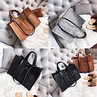 Женская сумка+клатч 2 в 1, фото 1