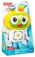 Интерактивная игрушка Плюшевый Бибо Fisher-Price Fisher-Price Groove & Glow BeatBo, фото 1
