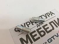 Полкодержатель Метал 5*16 с Силиконовой  заглушкой