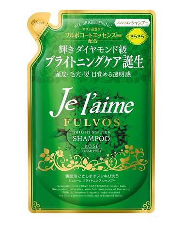 """Шампунь для всех типов волос """"Сияние и Гладкость"""" KOSE COSMEPORT"""" травяной 400 мл (388930), фото 2"""