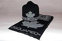 Набор мужской (шапка шарф) DSQUARED2 200-23 серый