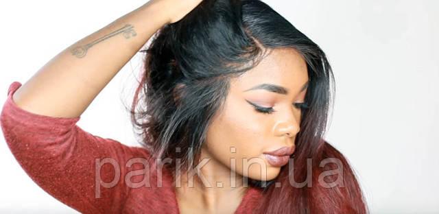 Приклеенный парик