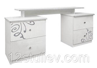 Туалетный столик Богема белая 4ш