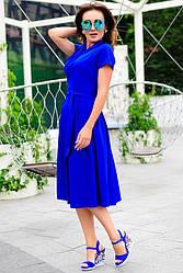 Женское платье *Бритни*  цвет электрик
