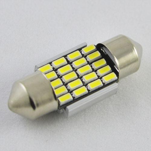 Светодиодная лампа SLS LED в салон  со встроенной обманкой бортового компьютера SV8,5(C5W) 31mm 20-3014 Белый