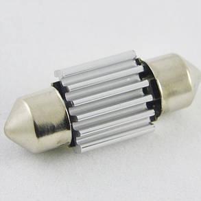 Светодиодная лампа в салон SLS LED со встроенной обманкой бортового компьютера SV8,5(C5W) 31mm 18-3014 Белый , фото 2