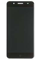 Дисплей (екран) для ZTE Blade A610 Plus + тачскрін, чорний