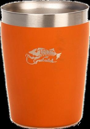 Стакан Tramp 250 мл Оранжевый (TRC-101 orange), фото 2