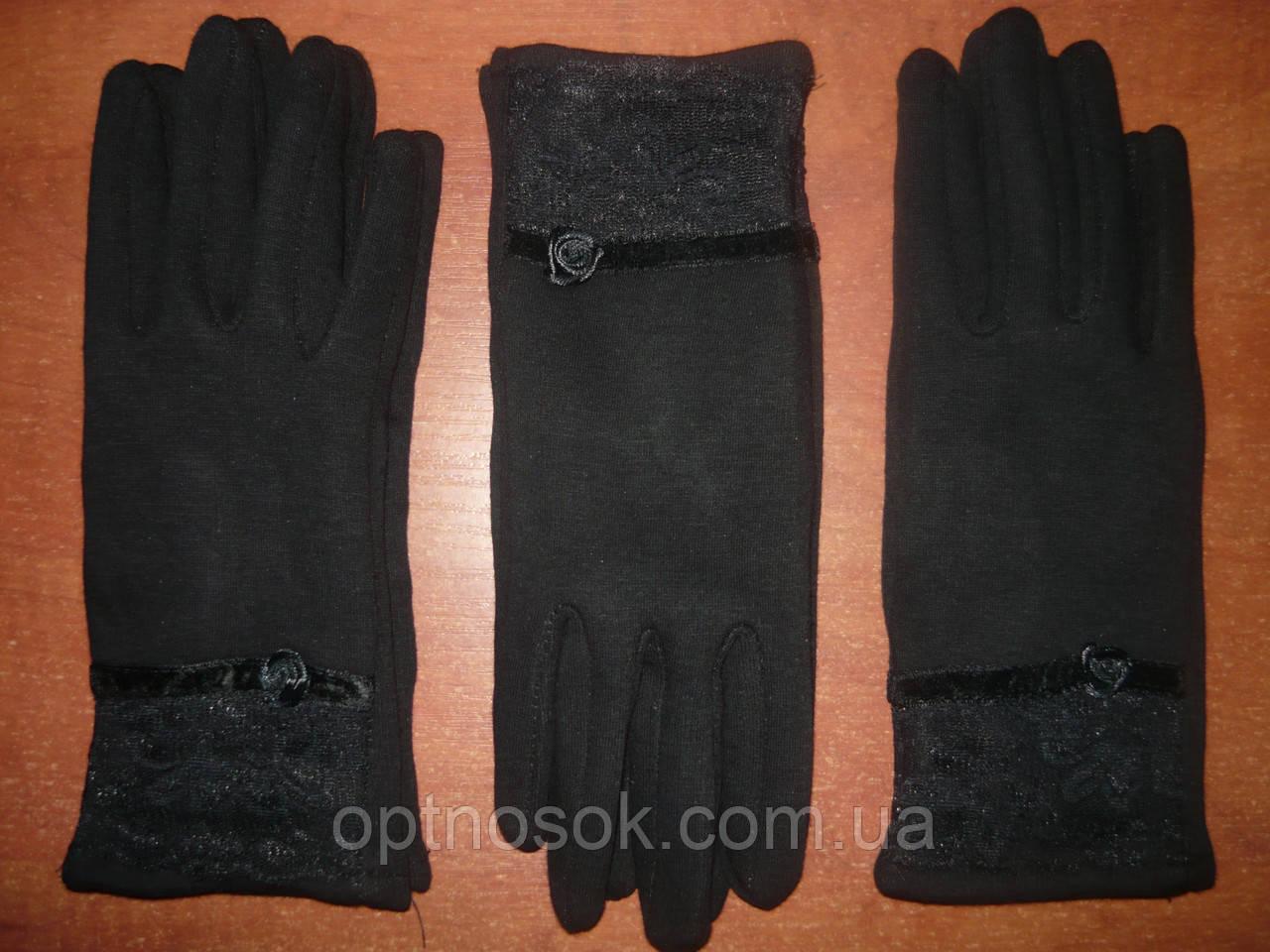 Женские перчатки Корона с начесом. Бамбук. р. М