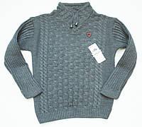 В'язаний светр на хлопчика підлітка