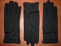 Женские перчатки Корона с начесом. Бамбук. р. L., фото 1