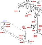 Стабілізатор задній, KIA Sorento 2009-2014, 555102p000, фото 3