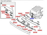Кнопка открытия багажника, KIA Sorento 2009-2014, 812602P010, фото 2
