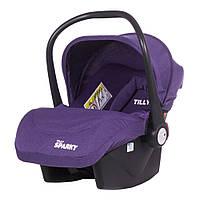 Автокресло детское бебикококон  TILLY Sparky T-511/1  Purple группа 0+  ***
