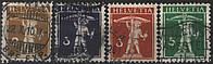 Швейцария 1910 - 1917 п/с