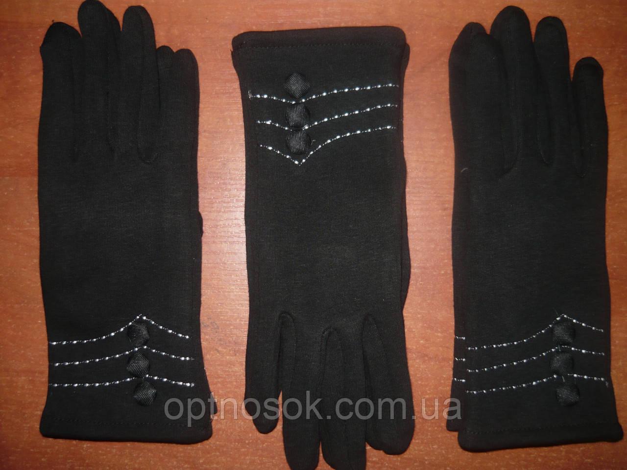 Женские перчатки Корона с начесом. Бамбук. р. L.