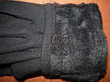 Жіночі рукавички Корона з начосом. Бамбук. р. М., фото 3