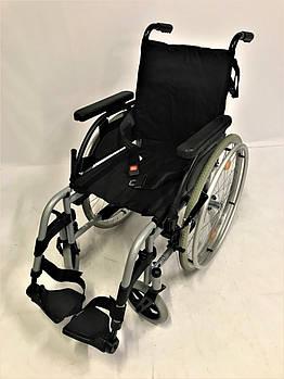 Инвалидная коляска каталка кресло Breezy узкая (видеообзор)