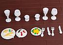 Большой домик Happy Family 012-10 Животные флоксовые (аналог Sylvanian Families) Светится люстра, фото 10