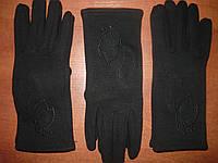 Женские перчатки Корона с начесом. Бамбук. р. М., фото 1