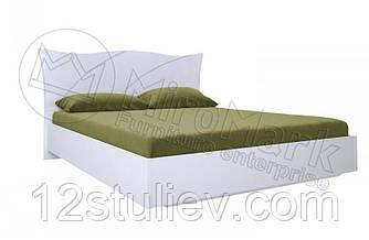 Кровать Богема Мягкая спинка белая 160*200 с подъемным механизмом и ламелями