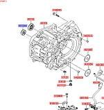 Сальник первичного вала КПП DST, KIA Sportage 2016- QL, 431342a010, фото 3