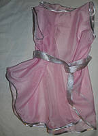 Летняя туника для девочки розовая. Оригинальный подарок , фото 1