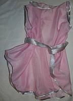 Летняя туника для девочки розовая. Оригинальный подарок