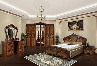 Спальня КАРМЕН НОВА 6Д горіх (Світ Меблів)