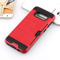 Чехол для Samsung Galaxy S8 (G950), бампер с слотом для карты, цвет красный