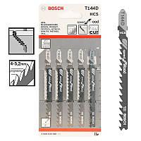 Пилка для лобзика Bosch T 144 D, HCS 5 шт/упак., фото 1