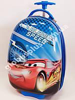 Детский чемодан дорожный на колесах «Тачки» Cars-10, 520370