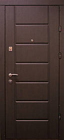 Входные двери Редфорт Канзас Стандарт венге в квартиру