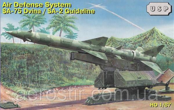 ЗРК С-75 «Двіна» 1/87 ZZ MODELL 87011