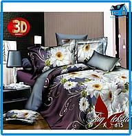 Комплект постельного белья 3D (1.5-полуторный размер)