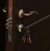 Входные двери Редфорт Канзас венге в квартиру, фото 3