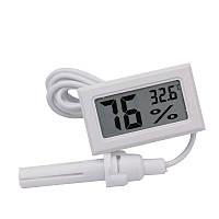 Цифровой термометр влагомер (гигрометр) для инкубатора с выносным датчиком, фото 1