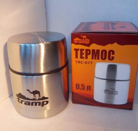 Термос Tramp с широким горлом 0.5 л (TRC-077)