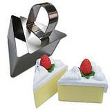 Сервировочное кулинарное кольцо с порессом Цветок Мousse mold, фото 10