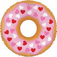 Фол куля МІНІ-ФІГУРА Пончик в сердечках Рожевий (CTI) США, фото 2