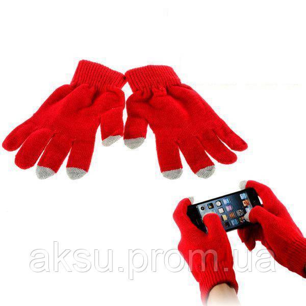 Оригинальные перчатки для сенсорных экранов iGlove Red