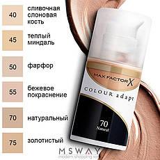 MaxFactor - Тональный крем Colour Adapt Тон 55 blushing beige 34ml, фото 2