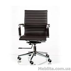 Кресло офисное Solano 5 artleather black Special4You, фото 2