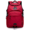 Рюкзак городской ISteeL для ноутбука Красный, фото 3