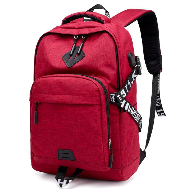 Рюкзак городской ISteeL для ноутбука Красный