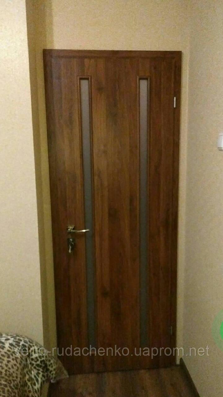 Двери Verto Купава 4.1 цвет Орех медовый «Симплекс»