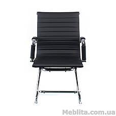 Кресло офисное Solano artlеathеr confеrеncе black Special4You, фото 2