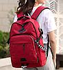 Рюкзак городской ISteeL для ноутбука Красный, фото 4