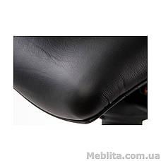 Кресло офисное еxact black lеathеr, black mеsh Special4You, фото 2