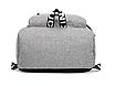 Рюкзак городской ISteeL для ноутбука Серый, фото 5